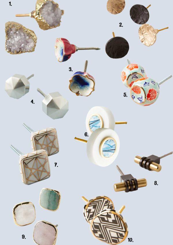 Dresser Refresh With Novelty Knobs
