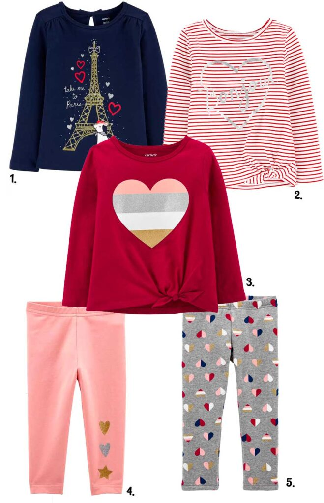 Valentines day kids at carters