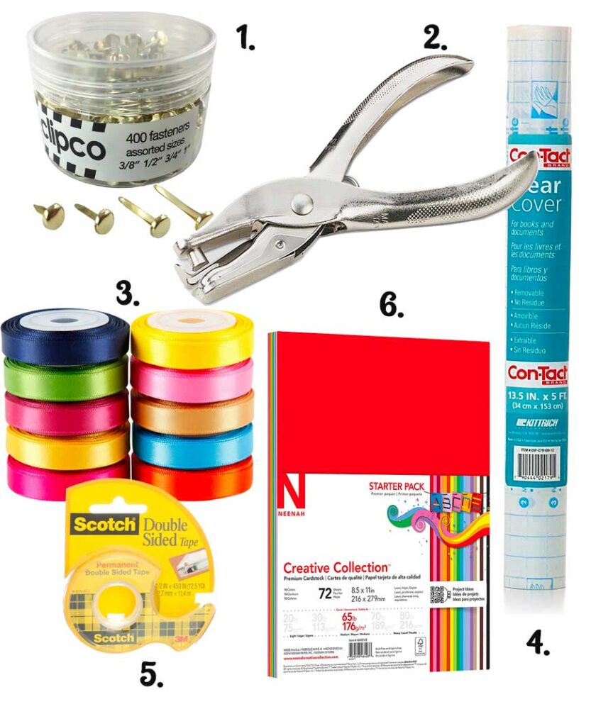 craft label supplies