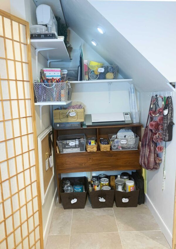 How To Organize A Craft Space
