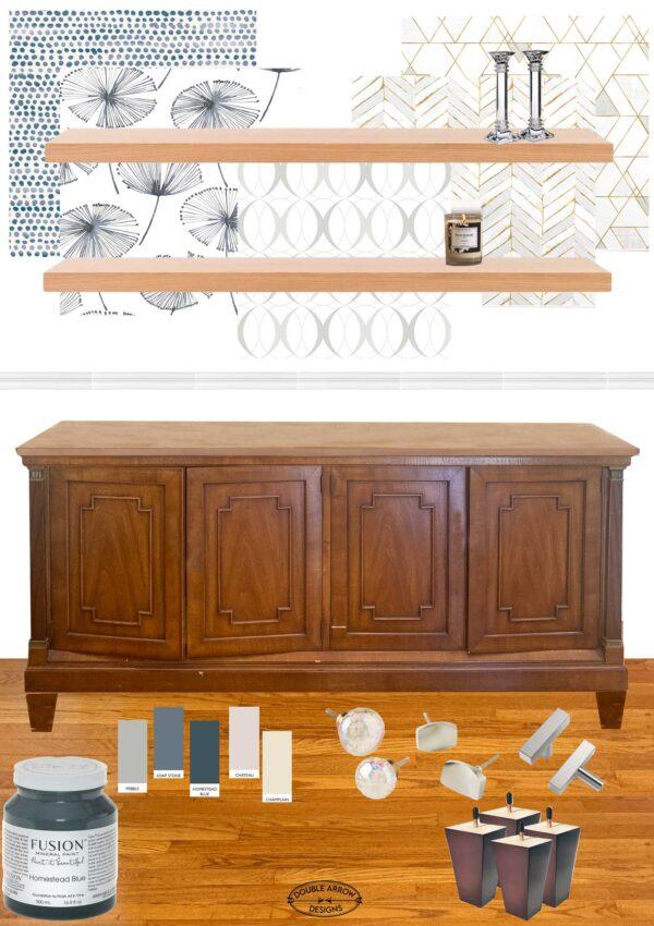 Repurposing A Dining Room- Room Revamp!