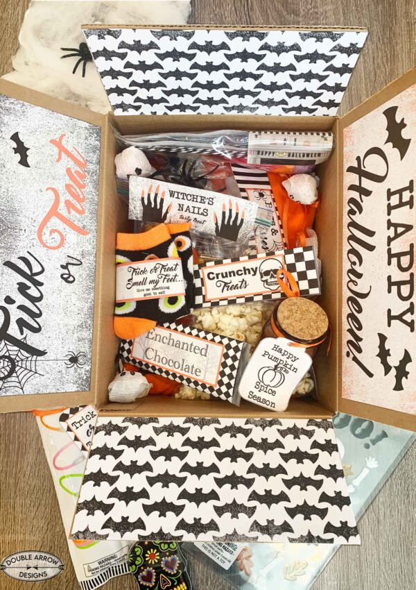 College Student Care Package- For Halloween!